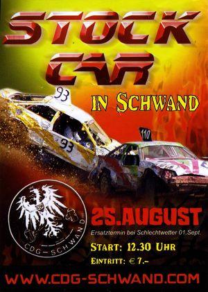 Stock-Car Rennen Schwand