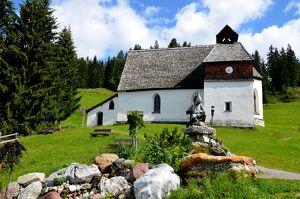 Tag des Denkmals – Silbertal im Montafon – St. Agatha Kapelle auf dem Kristberg