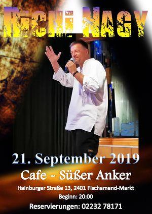 Richi Nagy live im Cafe - Süßer Anker