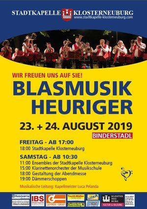 Blasmusikheuriger der Stadtkapelle Klosterneuburg