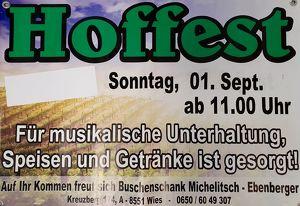 Hoffest Buschenschank Michelitsch