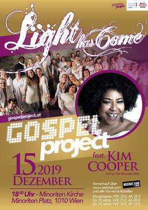 LIGHT HAS COME – X-Mas-Concert feat. Kim Cooper