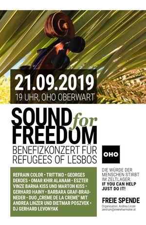 SOUND FOR FREEDOM - Benefizkonzert