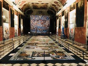 Der andere Blick - Michelangelos Fresken der Sixtinischen Kapelle in LINZ
