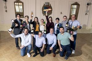 Poysdorfer Weintaufe - Segnung der ersten Weine des neuen Jahrgangs