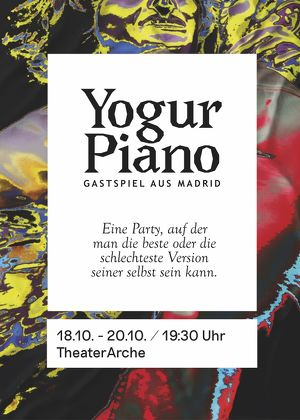 Yogur Piano. Teatro Espanol en Viena