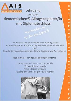 Lehrgang zum/zur dementischen© Alltagsbegleiter/in