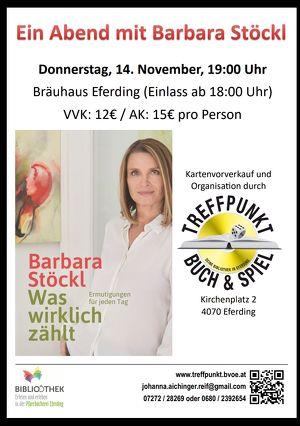 Ein Abend mit Barbara Stöckl