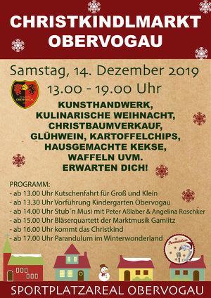 Christkindlmarkt Obervogau