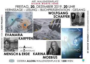 Mensch, Erde und Himmel im Zentrum von Ausstellung, Literatur, und Musik!