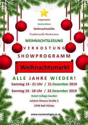 Weihnachtsmarkt - Alle Jahre wieder!