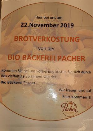 Brot Verkostung von der BIO Bäckerei Pacher