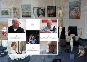 """Finale zu 7 Jahre """"Best of Galerie Sandpeck Wien 8"""""""