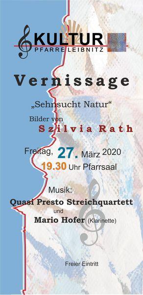 Kultur Pfarre Leibnitz - Vernissage: Sehnsucht Natur