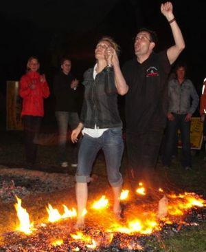 Feuerlauf-Seminar