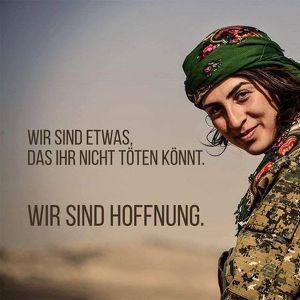 WOMEN DEFEND ROJAVA