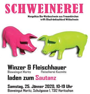 """""""Schweinerei"""" - traditioneller burgenländischer Sautanz"""