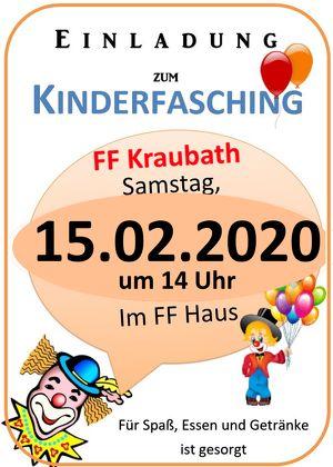 Kinderfasching FF Kraubath