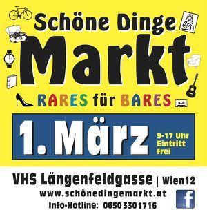 Flohmarkt: SchöneDingeMarkt