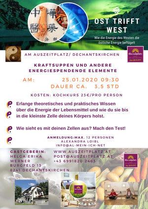 TCM Kraftsuppen Koch - Workshop, Ost trifft West