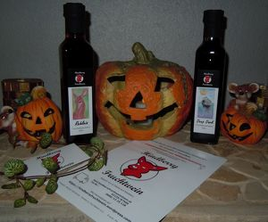 Halloween - in der Fruchtweinkellerei in Pellendorf, Himberg bei Wien (Halloweenparty, Weinverkostung, Delikatessen, Geschenke)