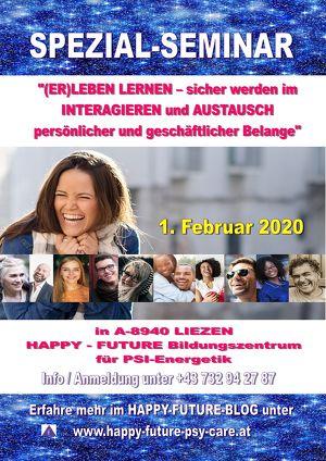 Spezial-Seminar für (Bewusstseins-)Transformationswillige!