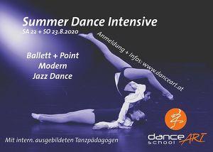 Summer Dance Intensive für fortgeschrittene Tänzer und Tänzerinnen