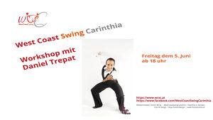 West Coast Swing Workshop mit Daniel Trepat (Abgesagt)