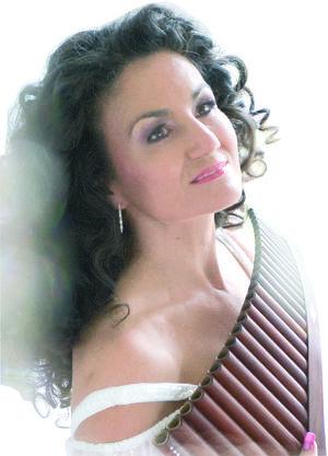Daniela de Santos - Königin der Kristall Panflöte - Programm: