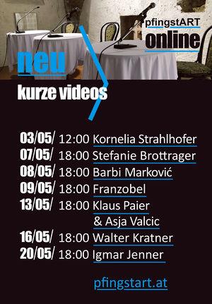 pfingstART ONLINE_Kurze Videos