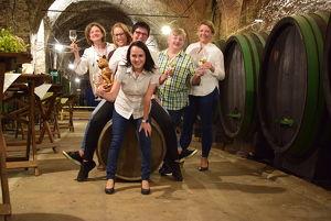 Kellerbesichtigung & Weinverkostung im über 300 Jahre alten Weinkeller von SCHLOSS SEGGAU