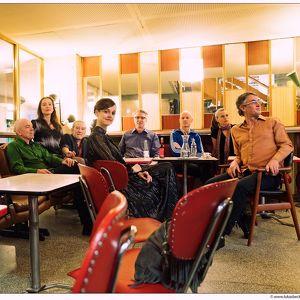 Musiksalon mit Knoedel in der Villa Müller