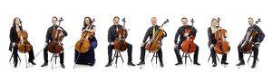 Acht Cellisten der Wiener Symphoniker
