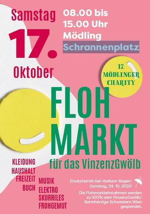 17. Mödlinger Charity-Flohmarkt