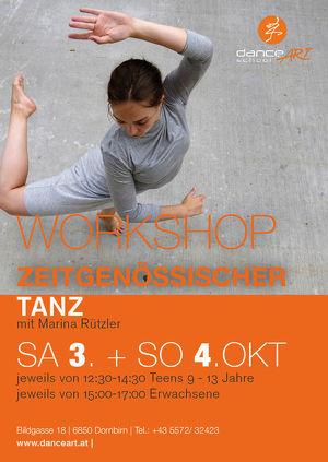 Workshop Zeitgenössischer Tanz