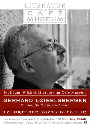 Kaffeehauslesung mit Gerhard Loibelsberger