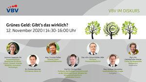 VBV im Diskurs | Grünes Geld: Gibt's das wirklich?