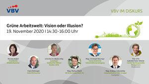 VBV im Diskurs | Grüne Arbeitswelt: Vision oder Illusion?