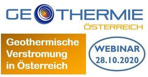 WEBINAR: Ist geothermische Verstromung in Österreich sinnvoll und wie kann sie gefördert werden?