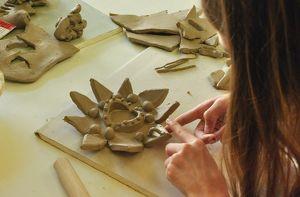 "Kinder Keramik Kurs ""Wunderblume"""
