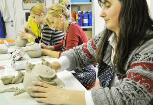 Keramikkurs für Erwachsene