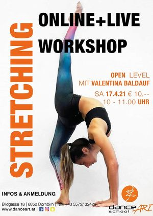 Stretching Online + Live Workshop