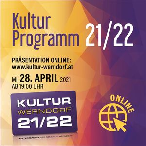 Kultur Werndorf - Kulturprogramm 21/22 - Onlinepräsentation