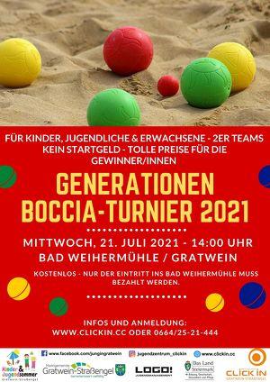 Generationen Boccia 2021