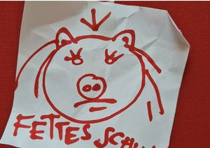 Fettes Schwein