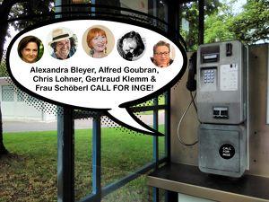 Call for Inge - Rahmenprogramm zum Bachmannpreis #tddl