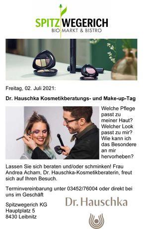 Dr. Hauschka Kosmetikberatungs- und Make-up-Tag - Spitzwegerich Leibnitz