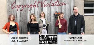 FREI TAG/NACHT Konzert // Copyright Violation
