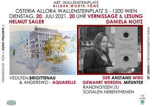 bilder.worte.töne Helmut Sailer und Daniela Noitz