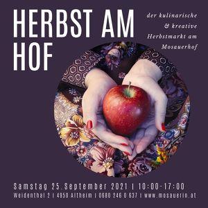 Herbst am Hof - der kulinarische & kreative Herbstmarkt am Mosauerhof